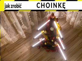 Jak wykonać choinkę z drewna egzotycznego i profili LED