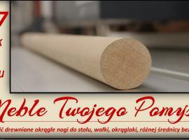 Jak zrobić drewniane okrągłe nogi do stołu bez tokarki