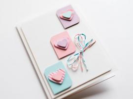Jak wykonać kartkę na walentynki w pastelowej tonacji