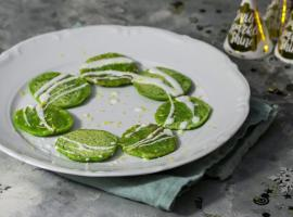 Jak zrobić zielone pancakes w wersji mini