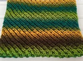 Jak zrobić szal na drutach