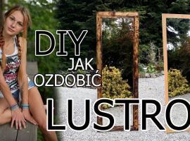Jak ozdobić stare lustro
