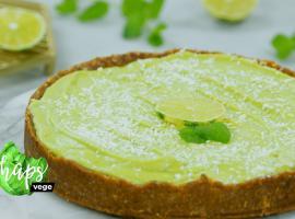 Jak zrobić tartę limonkową z avocado - wegańskie przepisy