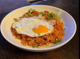 Jak zrobić smażony ryż z kimchi i mielonką