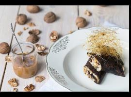 Jak zrobić czekoladowe naleśniki z bakaliami