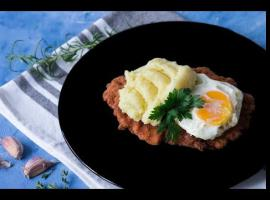 Jak przygotować schab na smalcu z jajkiem sadzonym