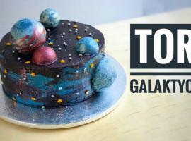 Jak zrobić galaktyczny tort
