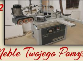 Jak używać obrabiarki do drewna - frezarka dolnowrzecionowa