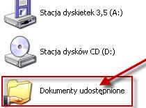 Jak usunąć folder Dokumenty Udostępnione z Mój Komputer