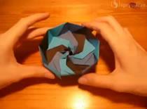 """Jaki zrobić pudełko """"Nine-Sided"""" origami"""