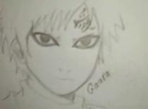 Jak narysować Gaarę z Naruto