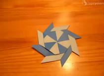 Jak zrobić składaną gwiazdę