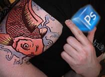 Jak nałożyć tatuaż na skórę w photoshopie