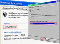 Jak włączyć hibernację komputera