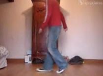 Jak tańczyc moonwalk - wślizg