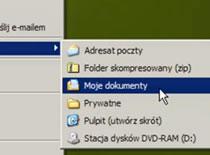 Jak stworzyć swój folder w menu Wyślij do