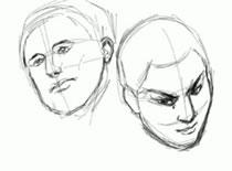 Jak narysować dwie twarze