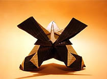 Jak zrobić samurajski hełm origami
