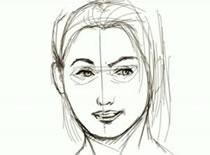 Jak narysować twarz kobiety